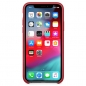 Preview: iPhone XS Leder Case PRODUCT Red (rot) Apple Original MRWK2ZM/A vorne online kaufen bestellen