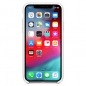 Preview: iPhone X Silicone Case Weiß Apple Original MRW82ZM/A vorne online kaufen bestellen