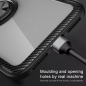 Preview: iPhone 12 mini Hybrid Magnet Ring Case in Carbon schwarz online kaufen bestellen