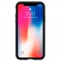 Preview: iPhone X stabile Handyhülle Spigen Rugged Armor vorne online kaufen bestellen