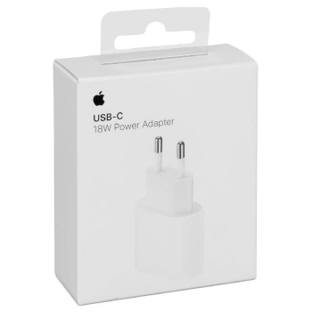 iPhone Schnell-Ladegerät 18W Power Adapter USB-C Apple MU7V2ZM/A Blister