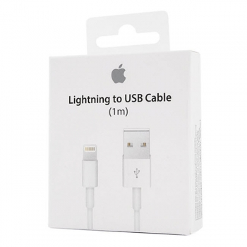 iPhone Ladekabel Lightning USB Apple MD818ZM/A Blister