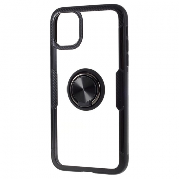 iPhone 12 mini Hybrid Magnet Ring Case in Carbon schwarz online kaufen bestellen
