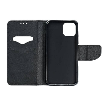 iPhone 11 FANCY Book Case in schwarz innen online kaufen bestellen