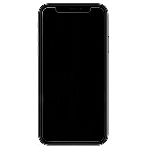 9H Panzerglasfolie Displayschutz transparent iPhone 11 Pro Max montiert