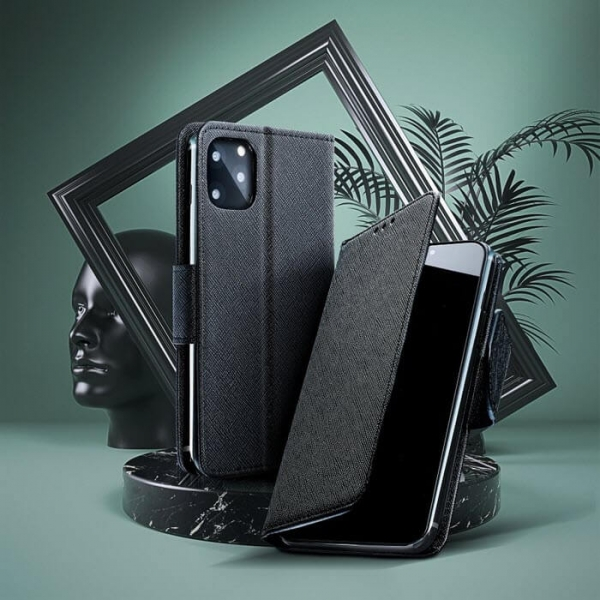 iPhone 11 FANCY Book Case in schwarz online kaufen bestellen
