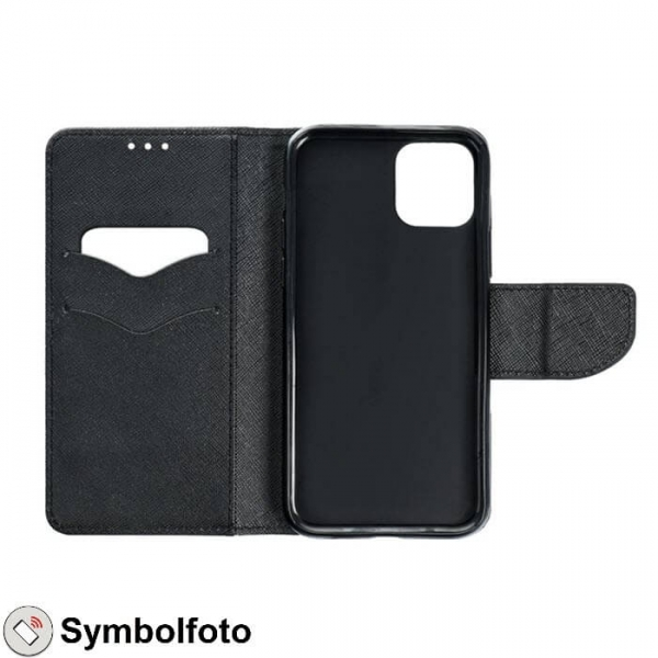 iPhone XS Max FANCY Book Case in schwarz innen online kaufen bestellen